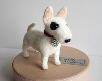 Felted Bull Terrier