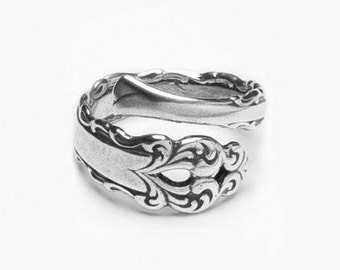 """Spoon Ring: """"Lara"""" by Silver Spoon Jewelry"""