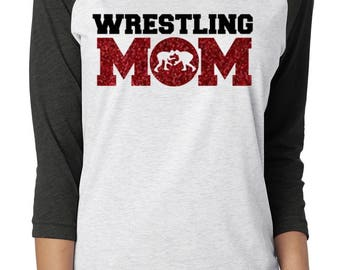 wrestling mom shirt, wrestling mom, wrestling shirt, wrestlers mom, wrestling mom tshirt, wrestling mom tee