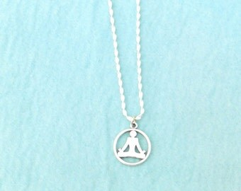 Yoga Necklace / women's jewelry / teen jewelry / girls jewelry / jewelry / women