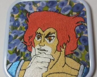 Lion O embroidery
