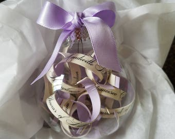 Customized Wedding Invitation Ornament