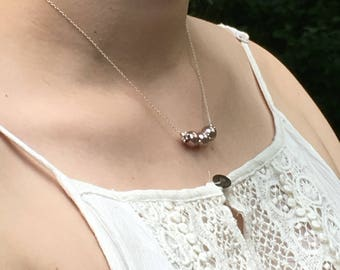 Pink Swarovski Pearl Necklace