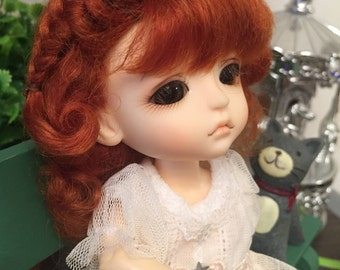 bjd doll  wig for lati yellow pukifee (4 colors)
