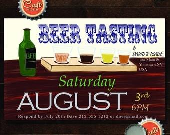 Beer Tasting Party Invite