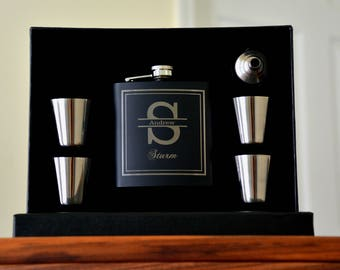 Groomsmen Gifts, 10 Personalized Flasks, Wedding Favor, Groom Gift, Gifts for Men, Unique Groomsmen Gifts, Custom Flask, Be My Best Man Gift