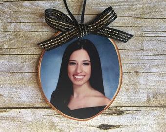 Graduation Photo Ornament