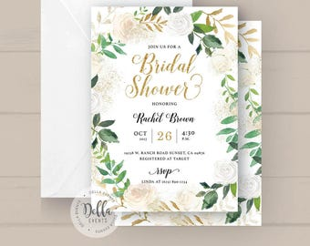 bridal shower invite etsy - Wedding Shower Invites