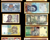 10 Worldwide Banknotes  - Set 2  - Mixed Media, Collectible, Arts and Crafts