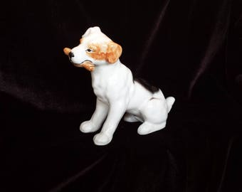 Dog Figurine Fetching - Airedale