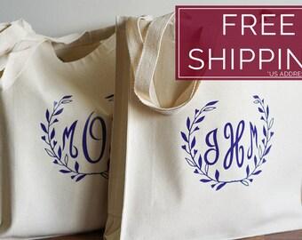 Bridesmaid Bag, Totes for Bridesmaids, Personalized Bridesmaid Gifts, Gift Bags for Wedding Party, Bridesmaid Tote Bags, Monogrammed Totes