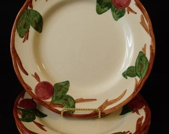 Franciscan Apple Dinner Plate set of 4 Made in England