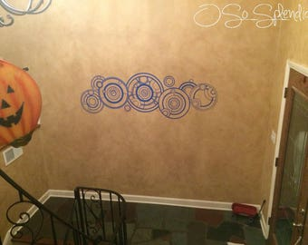 The Doctor's Name in Gallifreyan - Large Doctor Who Inspired Indoor Wall Vinyl Decal