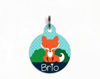 Personalized Pet ID Tag | What Does The Fox Say?