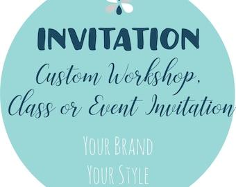 Doterra invitation Etsy