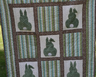 Green Bunny Quilt
