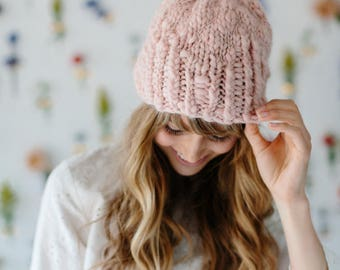 Into the Woods Hat Pattern ~ Knitting Pattern for chunky, bulky yarns