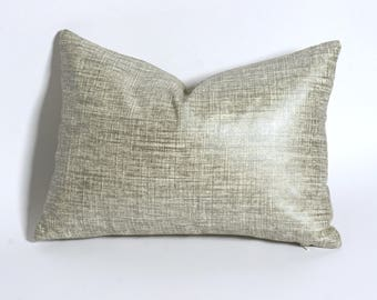 18x18 silver metallic pillow cover 10 more sizes 18 x 18 throw pillows