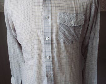 Vintage Button Down Long Sleeve Shirt by Wedgefield