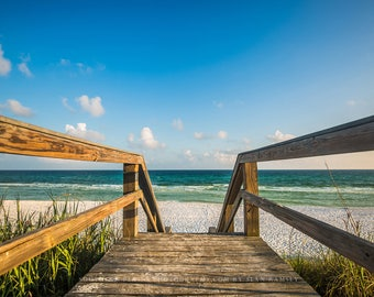 Beach Pictures, Destin Florida, Florida Wall Art, Florida Pictures, Florida Photography, Beach Décor, Beach Boardwalks, Beach Photography