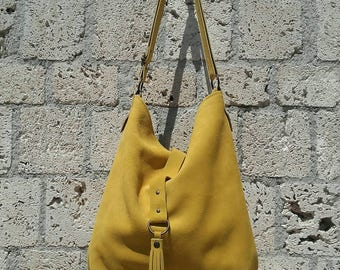 moss green leather hobo bag