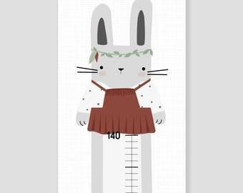 Bar for nursery - Indian Bunny girl
