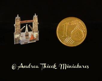 Miniature 3D Tower Bridge   1/12 scale
