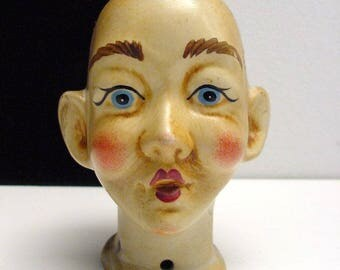 antique porcelain dolls head