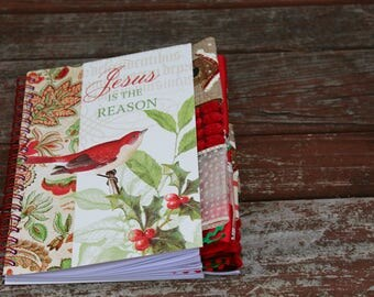 Jesus is the Reason for the Season Christmas Altered Journal