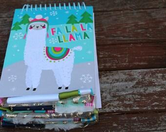 Fa La La Llama Altered Journal