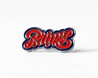 Philly Ambigram Pin