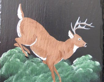 "The ""Jumping Deer"" Slate"