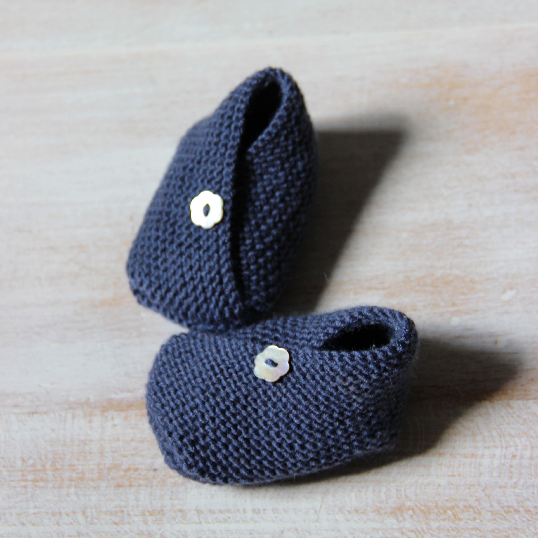 Baby Kimono Booties Knitting Pattern : Kimono Baby Booties / Knitting Pattern Baby Instructions in English Instant D...