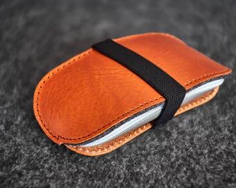 Leather Felt Apple Magic Mouse Case Hand-made