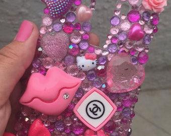 Pink Bling LG G4 Phone Case