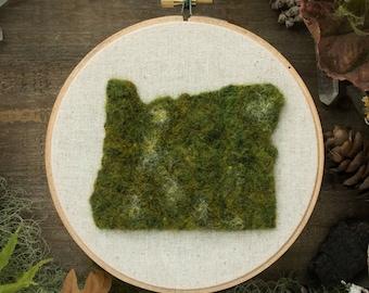Oregon State, Moss Wall Art