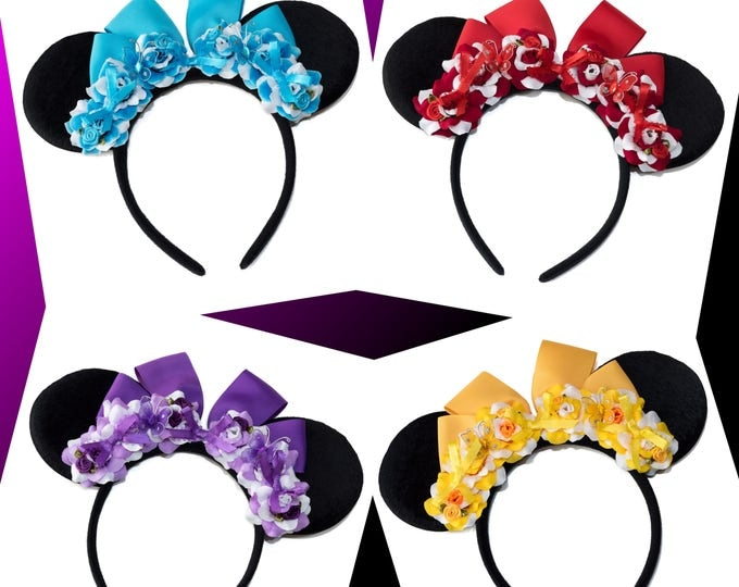 Dapper Gal Mouse Ears Headband