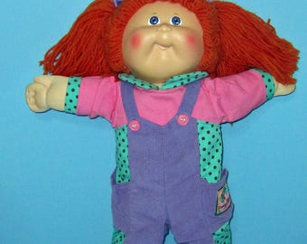 Cabbage Patch Kids, VHTF Head mold #30 Red Head Girl, Hasbro , Coleco, Collectors