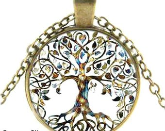 Bronze Tree Of Life Pendant, Tree Of Life Necklace, Tree of Life Jewelry, Tree Necklace, Celtic Tree, Celtic Necklace, Special Gifts