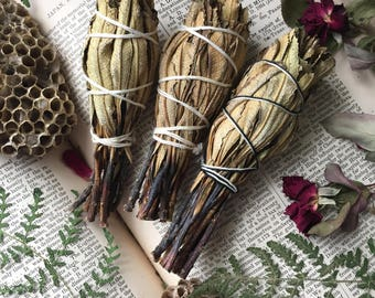 Yerba Santa Smudge Stick Cleansing Bundle Wand, Smudging, Home Cleansing