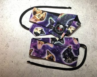 Space Kittens, Cats, Wrist Wraps, WOD, Weightlifting, Athletic