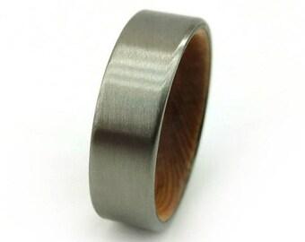 Reclaimed Cedar Ring, Cedar Shingle Ring, Handmade Ring, Barn Wood Ring, American Jewelry, Rings of Wood, Wooden Ring, Jewelry GJG, Colorado