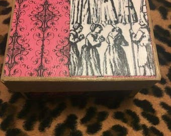 Witch trials gift box