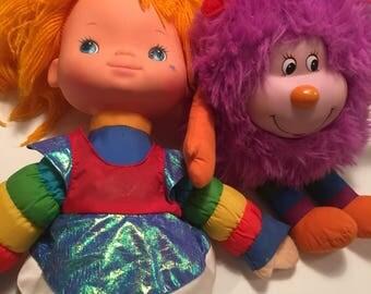 Rainbow Brite and Sprite Lot