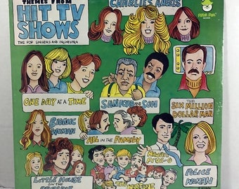 SEALED  Themes From Hit TV Shows Vol 2 vinyl record by Pop Singers & Orchestra 1977 Peter Pan Records Television Favorites