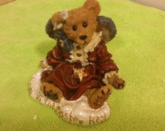 Boyds Bears Bearstone Collection, Guinevere the Angel - Love is the Masterkey, 1998
