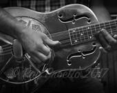Steel Resonator Guitar...