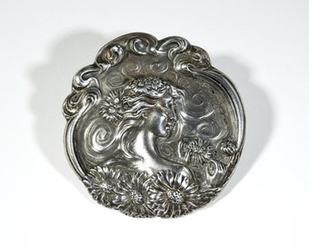 Antique Art Nouveau Brooch