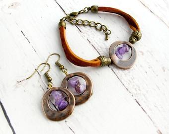 Amethyst Jewellery in Greenland