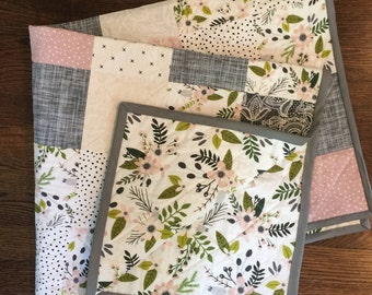 Floral patchwork Quilt READY TONSHIP